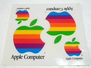 apple rainbow stickers in Computers/Tablets & Networking