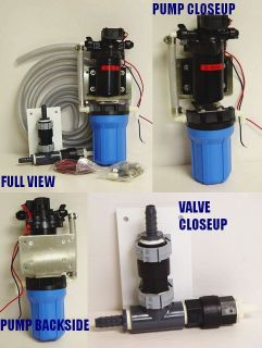FRESH WATER FLUSH CARVER BOAT PUMP for HORIZON SEAFAR