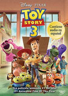 DISNEY TOY STORY 3 SPANISH (ESPANOL) VERSION, INCLUDES ENGLISH AUDIO