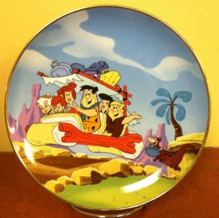 1992 Hanna Barbera Franklin Mint The Flintstones Collectors Plate