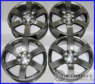 08 09 GMC ENVOY CHEVY TRAILBLAZER SS 20 GUNMETAL WHEELS OEM FACTORY