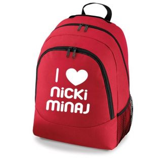 Love Nicki Minaj Bag New Girls School Backpack