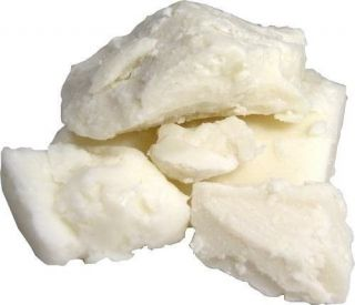 African Ghana GRADE A ORGANIC NATURAL UNREFINED RAW SHEA BUTTER White