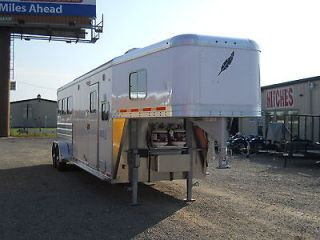 Horse Slant with Living Quarters Gooseneck Horse Trailer