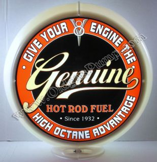 Genuine V 8 Hot Rod Fuel Gas Pump Globe   G 253