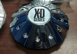 XD Series Monster XD 778 Chrome Aftermarket Wheel Center Cap 846L215