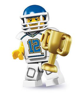 Newly listed LEGO MINI FIGURE – Football Player   SERIES 8  NEW
