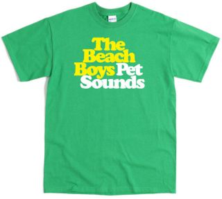 Boys Pet Sounds T Shirt 9 Colour Screenprint Brian Wilson Tour CD DVD