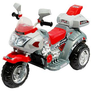 Kids Ride On Battery Operated 3 Wheeler Racer Motorcycle Children Toys