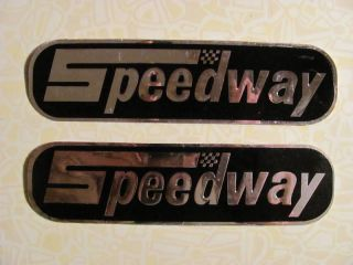 NOS Speedway Gas Tank Decals mini bike stickers for 14