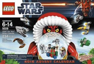LEGO STAR WARS 9509 ADVENT CALENDAR 2012 CHRISTMAS DARTH MAUL