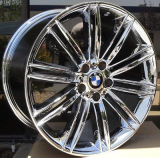 20 inch chrome wheels rims fit BMW X3 X5 X6 2012 Style   Only Two