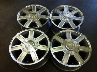 CADILLAC ESCALADE EXT ESV 18 07 11 FOUR (4) OEM FACTORY ALLOY RIMS