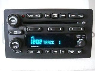 05 06 CHEVY Trailblazer GMC Envoy Radio 6 Disc CD Player Changer