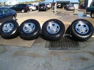 DODGE RAM HEAVY DUTY 8 LUG RIMS & TIRES