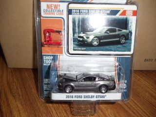 Greenlight MUSCLE 2010 Ford Shelby GT500 silver ON SALE
