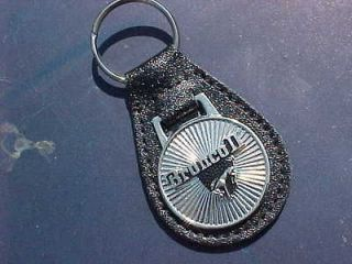 FORD BRONCO II CLASSIC COLLECTOR TRUCK SILVER STAR LEATHER KEY FOB Hi