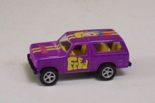 Ford Bronco 4x4 Purple SCOOBY DOO FRED RC LE Loose SUV TRUCK