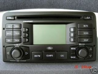 Ford Focus Radio Stereo CD Player  Blaupunkt OEM (Fits Ford Focus