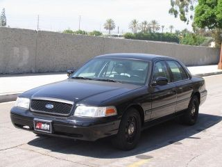 Ford  Crown Victoria Police Inter 2010 Ford Crown Victoria Police