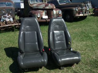 2000 FORD EXPLORER FRONT POWER BUCKET SEATS LEATHER HOTROD RAT ROD