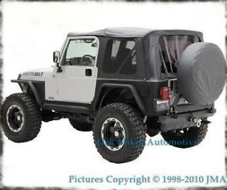97 06 JEEP WRANGLER REPLACEMENT SOFT TOP TINTED (Fits Jeep)