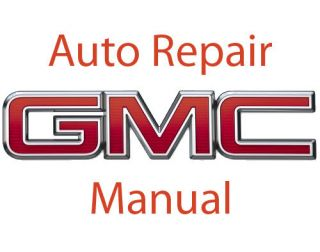 GMC Acadia repair manual