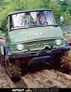 1971 Mercedes Benz Unimog Factory Photo