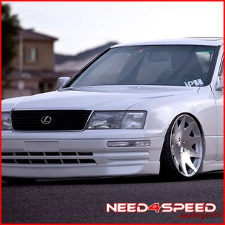 20 LEXUS LS430 MRR HR3 VIP CONCAVE SILVER STAGGERED RIMS WHEELS