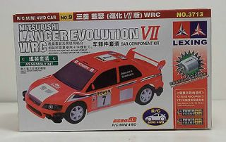 Mitsubishi Lancer Evolution VII WRC Car Component Kit by LEXING