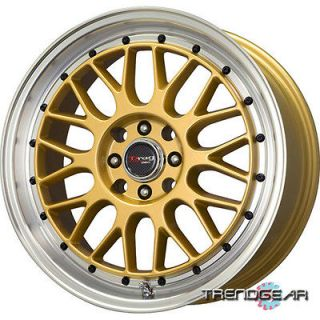 15 DRAG DR44 4 LUG WHEELS RIMS TOYOTA TERCEL CELICA MR2