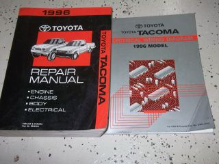 Toyota Tacoma repair manual in Toyota