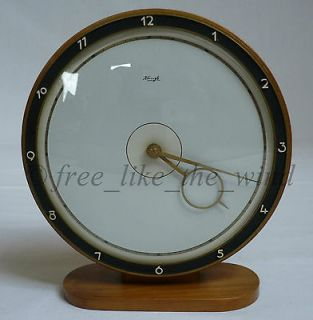 RARE ELEGANT ART DECO KIENZLE TABLE CLOCK HEINRICH MÖLLER W. ORIGINAL
