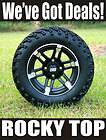 CLUB CAR 6 A ARM LIFT KIT + 12x7 BARRACUDA Golf Cart Wheels and 22 A