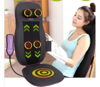 Body Neck Shoulder Back Massager Cushion Massage Pain Stress Relief
