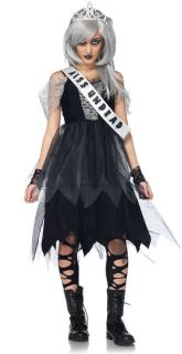 Zombie Prom Queen Costume Scary Kids Zombie Costume Size S/M OR M/L