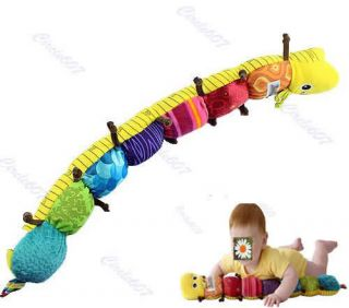 New Popular and Colorful Musical Inchworm Soft Lovely Developmental