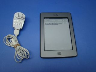 KINDLE TOUCH MODEL # D01200 4GB 6 WIFI WIRELESS EBOOK READER