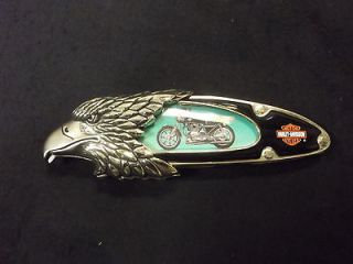 Franklin Mint Harley Davidson Knife  CAFE RACER