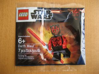 New & Sealed Lego Starwars Darth Maul Minifig ~ Exclusive Promo Set