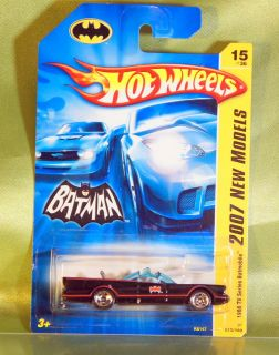 VINTAGE HOT WHEELS BATMOBILE BATMAN DIECAST CAR BARRIS 164