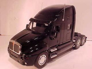 SEMI TRAILER TRUCK RIG Diecast Toy Model 1/32 Boley 11 inch BLACK