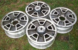 FORD 150 TRUCK ALUMINUM WHEELS / SET OF 4 / 5 LUG / 15 x 6 / VERY NICE
