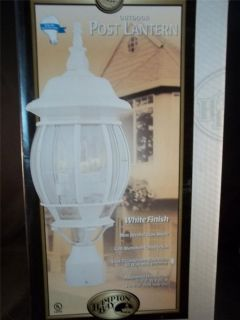hampton bay outdoor lighting in Light Fixtures