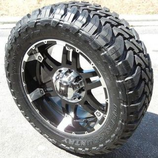 KMC XD SPY WHEELS TOYO OPEN COUNTRY MT DODGE RAM 1500 5X5.5 4X4 HEMI