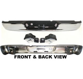 Step Bumper Rear Chrome Ram Truck Dodge 1500 2500 3500 2008 2007 2006