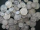 OZ. 90% scrap SILVER Pre 1965 COINS & HALF DOLLARS, BEST on