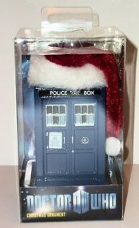 Doctor Dr Who Tardis Time Machine Kurt Adler 12 Christmas Ornament