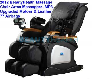 BEAUTYHEALTH BC 07D SHIATSU RECLINER MASSAGE CHAIR w/Jade Heat Therapy