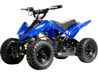 VOLT KIDS BATTERY POWERED ELECTRIC BLUE RIDE ON CHILDRENS ATV BIKE TOY